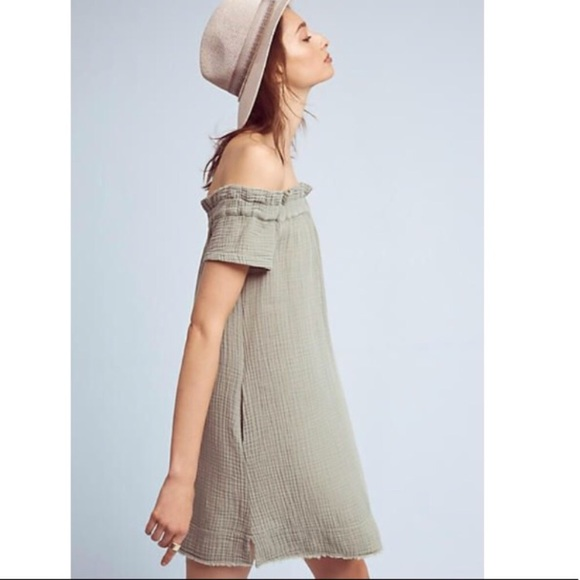 Anthropologie Dresses & Skirts - Anthropologie Muella Amadi moss green dress!.